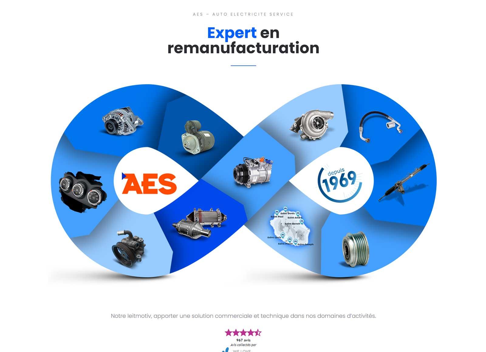 A.E.S, Auto Électricité Service Réunion