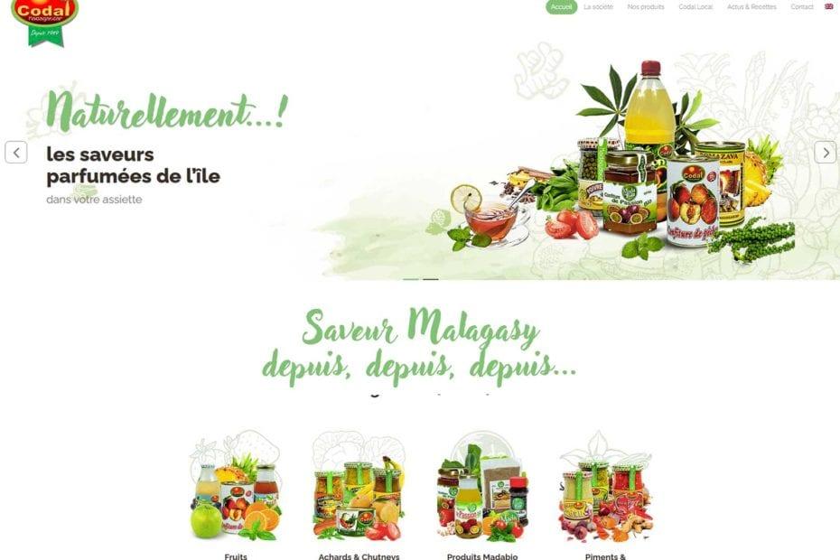 Agro alimentaire Madagascar Codal pour l'exportation