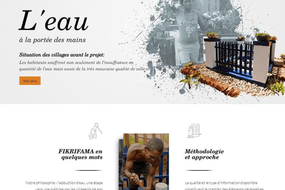 creation du site fikrifama