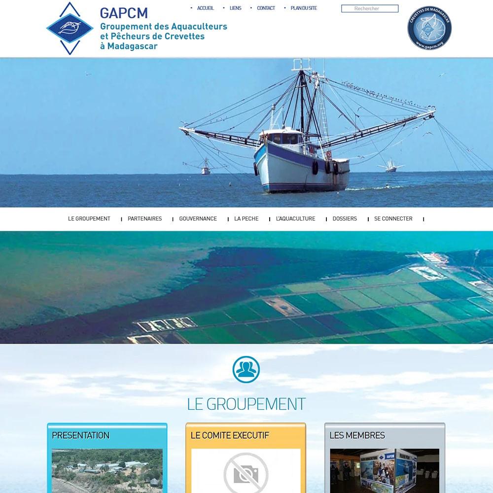 Creation du site gapcm