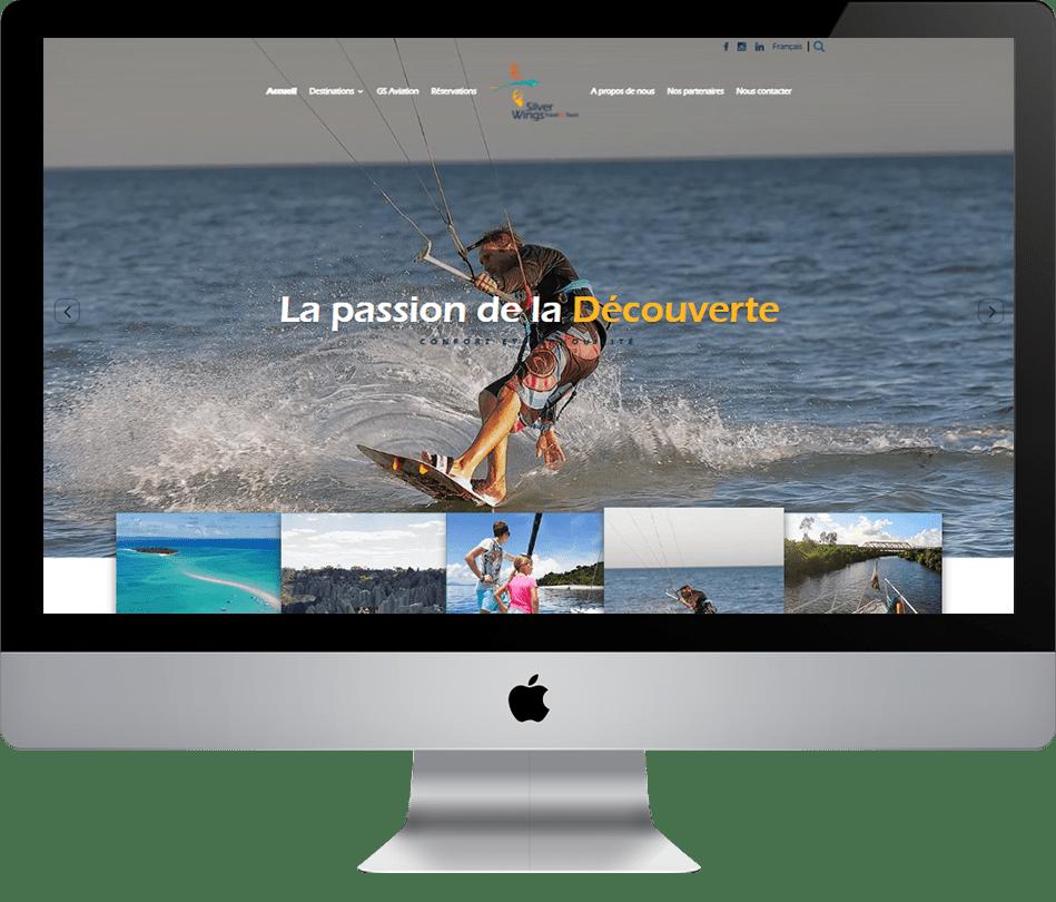 Portfolio Création de site NetUnivers