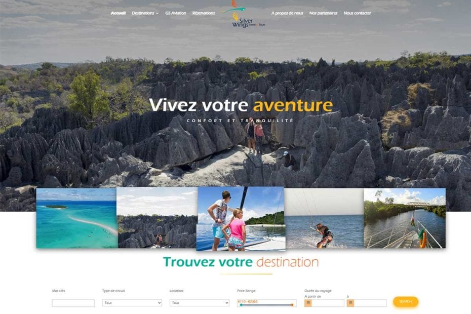 Agence de voyages Madagascar Silverwings