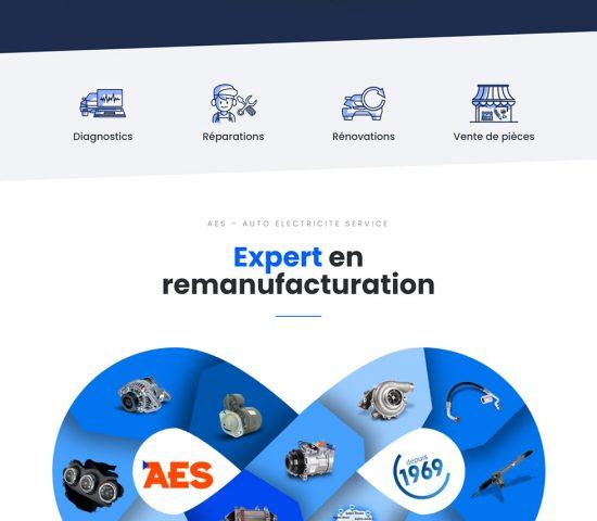 creation du site AES