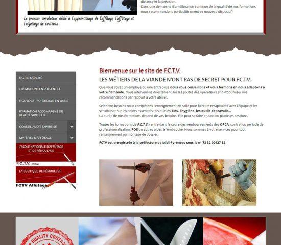 creation du site FCTV