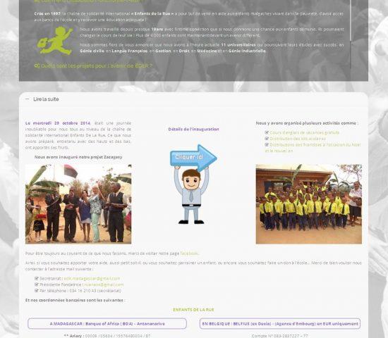 creation du site edlr