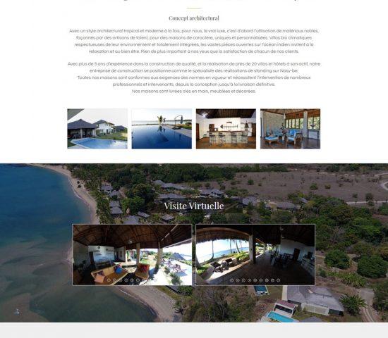 creation du site Home Madagascar