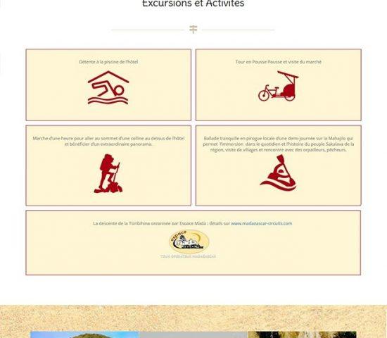creation du site princesse Tsiribihina