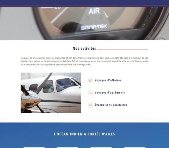 creation du site sta aviation